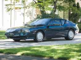 Alpine GTA Turbo 1990 Petrolicious - 5