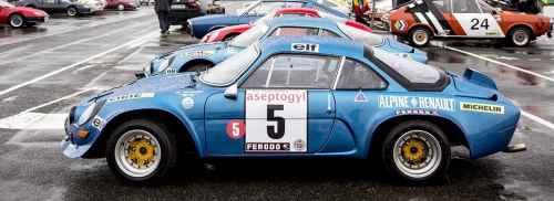 Alpine A110 Groupe 5 : un redoutable prototype à l'assaut des rallyes