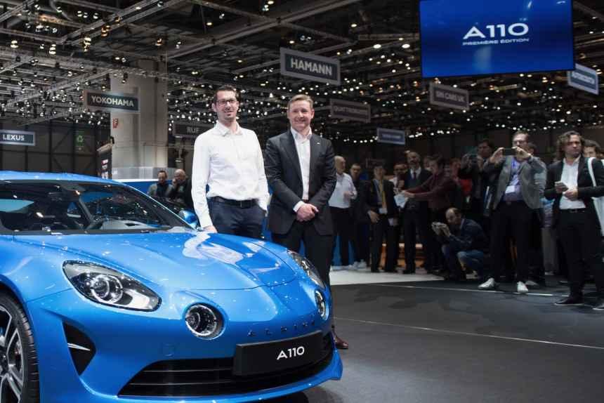 Interview d'Antony Villain, directeur du Design Alpine, au salon de Genève 2017