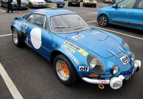 alpine A110 A610 A310 GTA RAOC UK ASAN 2017 - 23