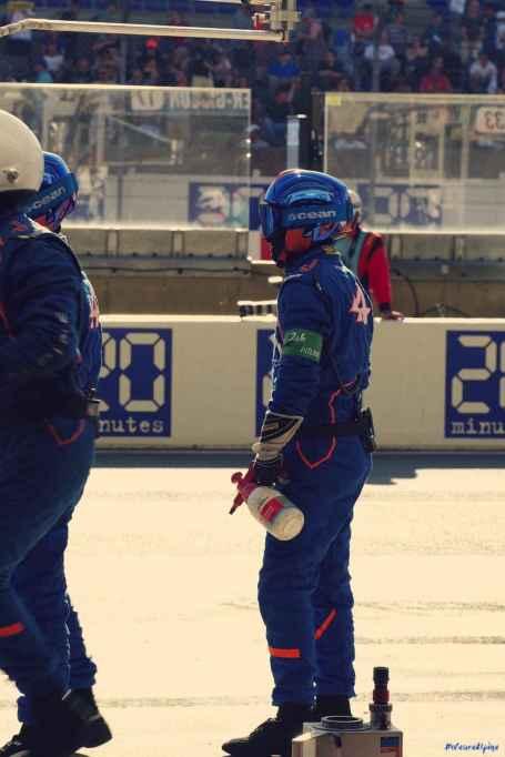 Alpine Planet WEC 24 Heures du Mans 2017 Signatech Alpine Ragues Panciatici Rao Negrao Dumas Menezes coulisses - 24-imp