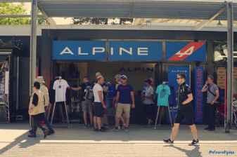 Alpine Planet WEC 24 Heures du Mans 2017 Signatech Alpine Ragues Panciatici Rao Negrao Dumas Menezes coulisses - 4-imp