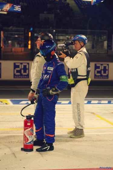 Alpine Planet WEC 24 Heures du Mans 2017 Signatech Alpine Ragues Panciatici Rao Negrao Dumas Menezes coulisses - 44-imp