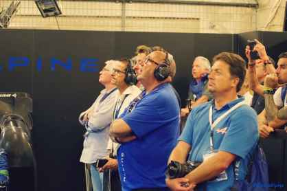 Alpine Planet WEC 24 Heures du Mans 2017 Signatech Alpine Ragues Panciatici Rao Negrao Dumas Menezes coulisses - 45-imp