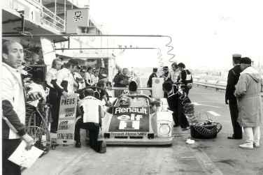 24 Heures du Mans 1978 pironi jabouille depailler jaussaud bell ragnotti frequelin a443 a442b a442a a442 victoire - 23