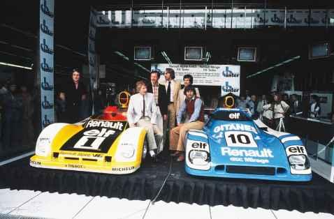 24 Heures du Mans 1978 pironi jabouille depailler jaussaud bell ragnotti frequelin a443 a442b a442a a442 victoire - 9