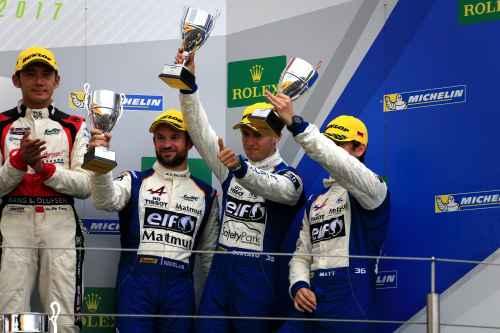 Un second podium pour Signatech Alpine Matmut aux 6 Heures du Nürburgring