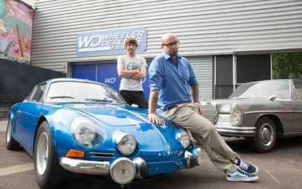 Alpine A110 RMC Decouverte Wheeler Dealers France 2017 Ragnotti - 1