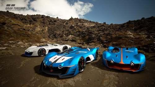Alpine dévoile le concept Vision GT 2017 / GR.1 sur Gran Turismo Sport !