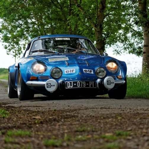 Classic Team#2c2m Alpine A110 1300S Ulule Monte Carlo Millet Caudoux - 5