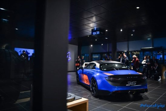 Alpine A110 Cup Signatech Studio Boulogne Billancourt GPE Auto - 14