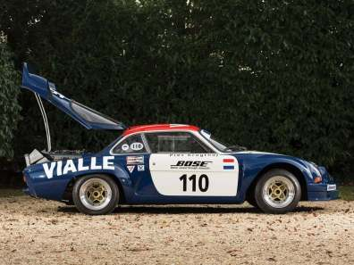 Alpine A110 B Vialle 1974 Rally cross (21)