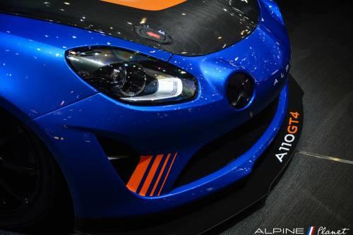 L'Alpine A110 GT4 devrait participer au FFSA GT en mi-saison !