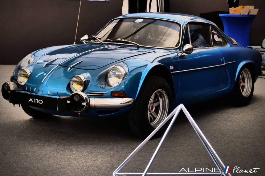 De belles Alpine au Avignon Motor Festival / retour en images