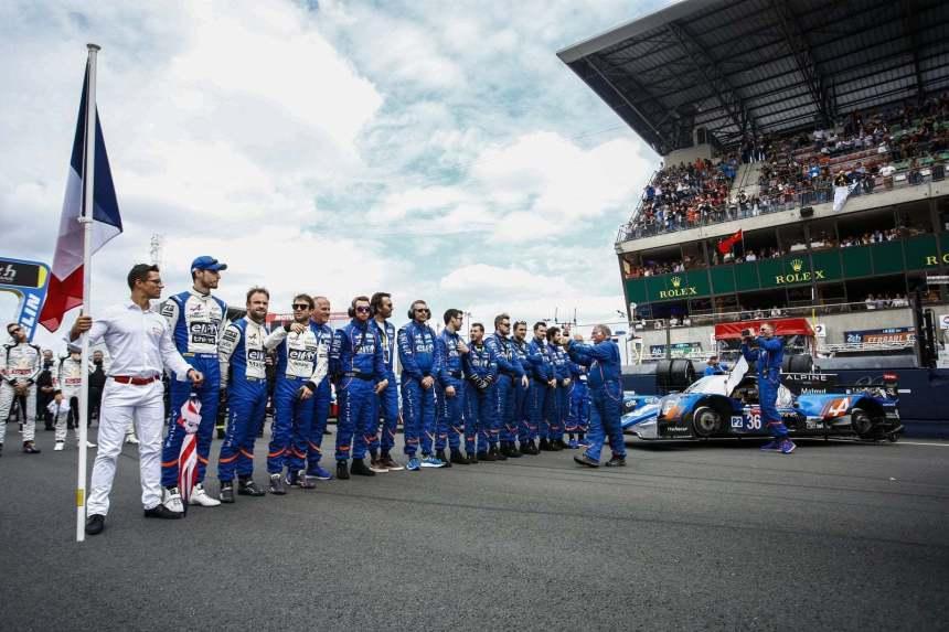 Alpine remporte les 24h du Mans 2018 !