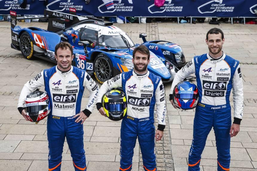 24 Heures du Mans: Signatech Alpine Matmut prêt à en découdre !