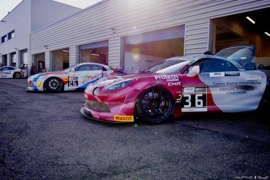 Alpine Planet FFSA GT GT4 Dijon Prenois A110 - 2
