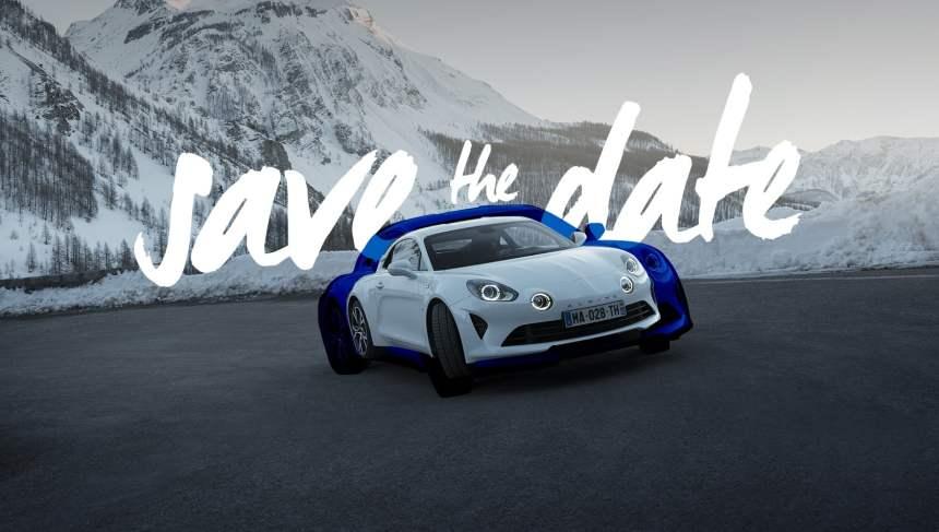 Alpine posera ses roues au Mondial de l'automobile de Paris du 4 au 14 octobre  2018