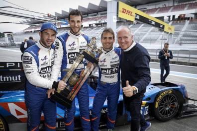 24 heures du mans vainqueur victory WEC Alpine Signature A470 A110 Club Negrao Lapierre Thiriet 2018 (3)