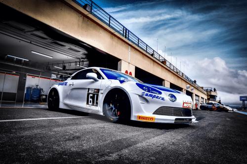Zentech Sport: le nouveau Team en Alpine A110 GT4 au Castellet !