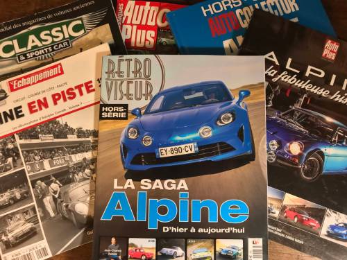Vous l'avez dans le kiosque : Revue de presse Alpine janvier 2019
