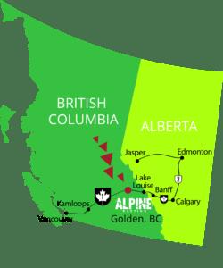 Alpine Rafting Golden BC