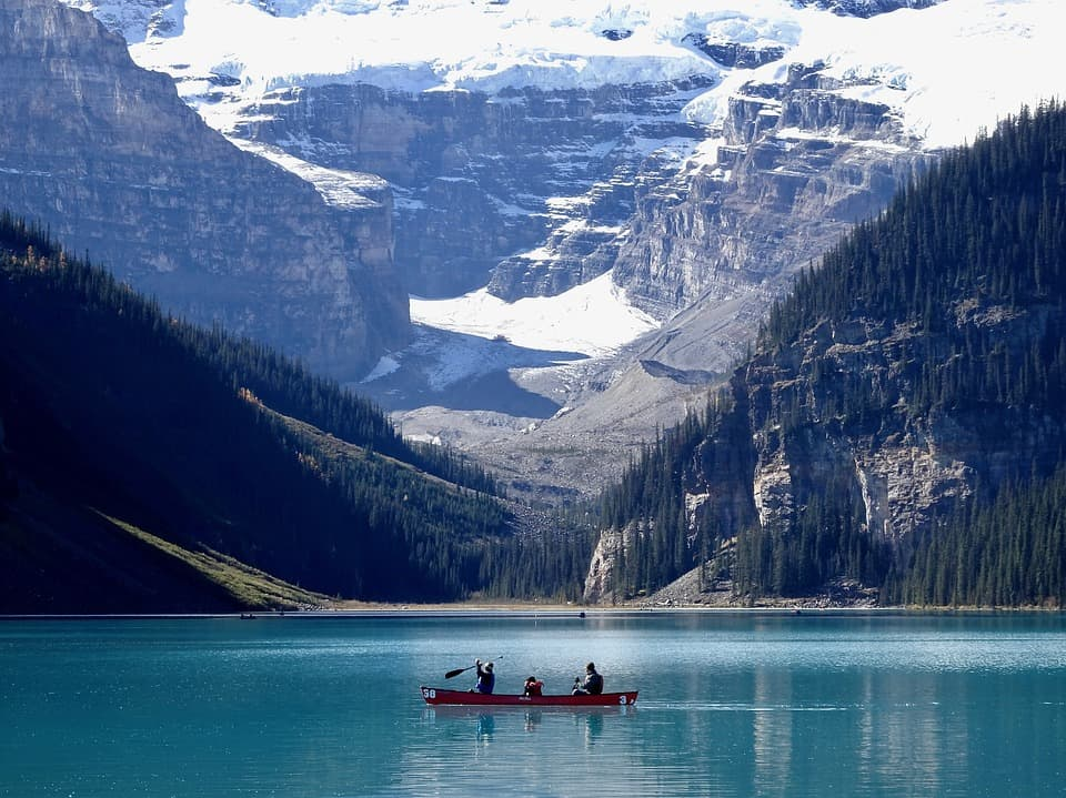 Lake Louise Whitewater Rafting