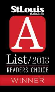 St Louis Magazine A-List Award
