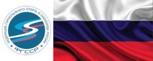 RUSSIA LOGO FLAG