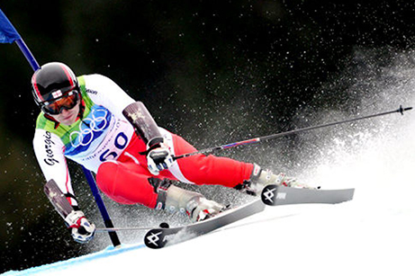 Georgian skier Iason Abramashvili celebrated his first victories of the new season in Turkey. Photo from www.nydailynews.com.