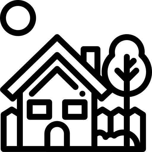 tree and house icon