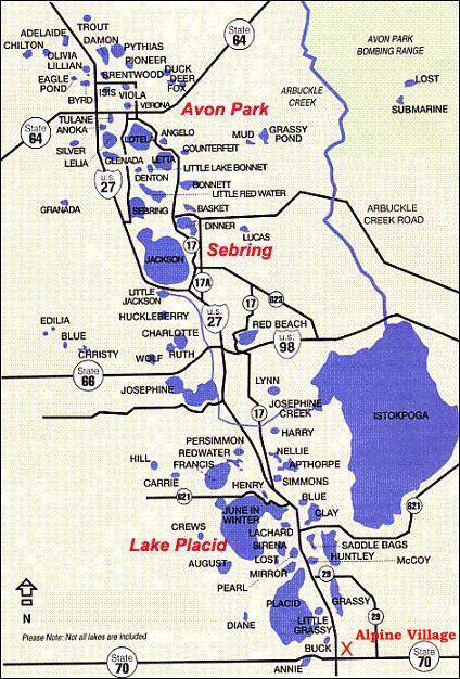 Avon Park Florida Map.Www Avon Park Florida Map