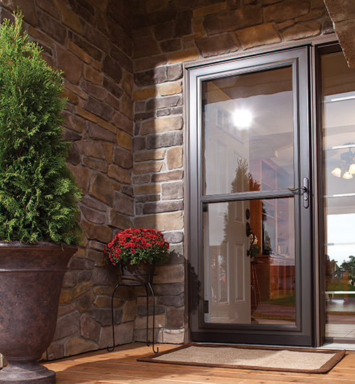 Retractable Screensstorm Doors  Alpine Glass Windows & Doors