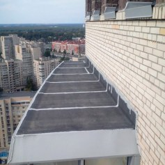Гидроизоляция балконов и лоджий