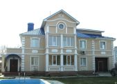Монтаж мокрого фасад