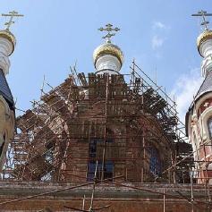 Реставрация памятников Промышленные альпинисты Москва и Московская область (ООО Альпинисты-М)