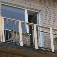 Обшивка балконов и лоджий альпинистами