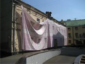 Монтаж сетки на фасад Промышленные альпинисты Москва и Московская область (ООО Альпинисты-М)