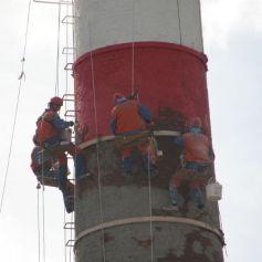 Капитальный ремонт дымовых труб