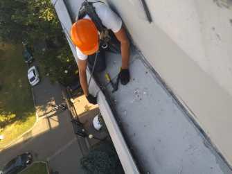 Герметизация и ремонт кровли крыши