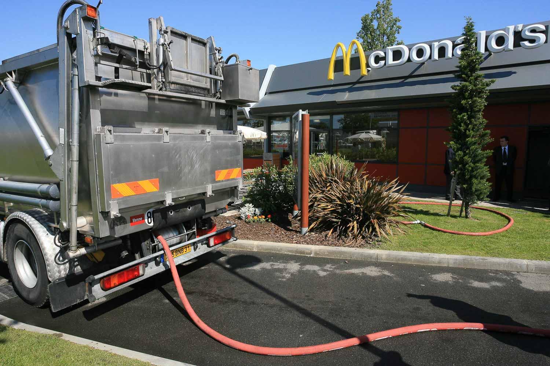 recyclage des huiles mc donalds reportage alpix photo