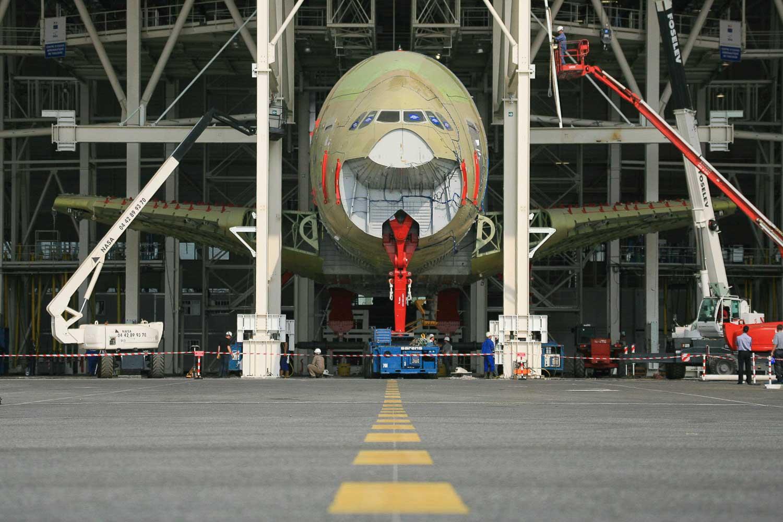 usine de montage airbus