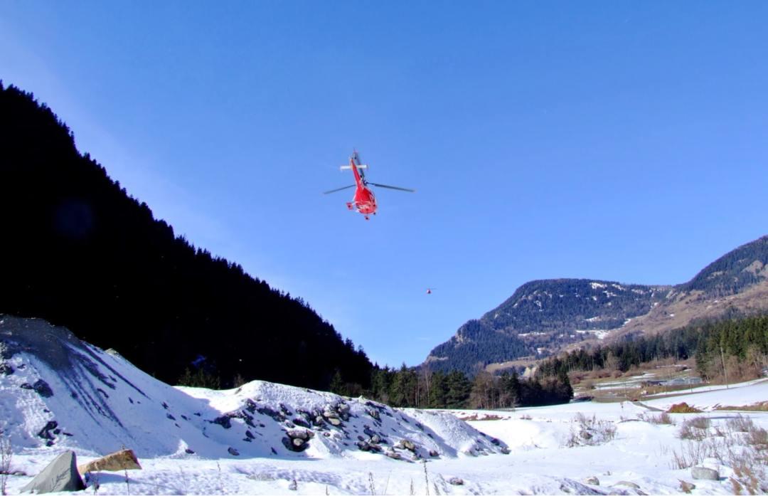 Heli Skiing Verbier