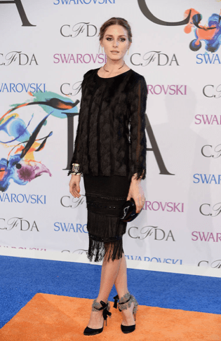 Olivia Palermo in Ann Taylor