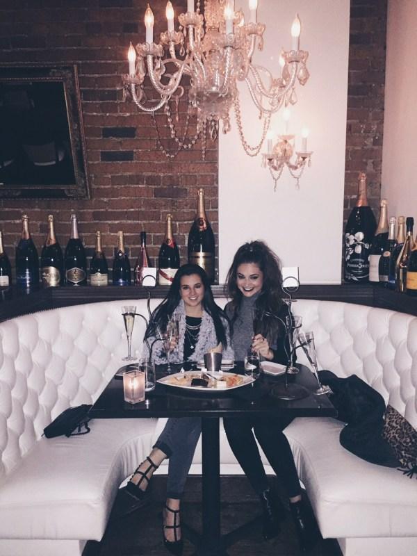 Champagne in Denver