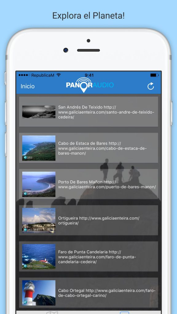 Panoraudio app