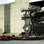 Transportando un supermotor