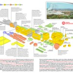 Factoría de carburo cálcico (infografía)