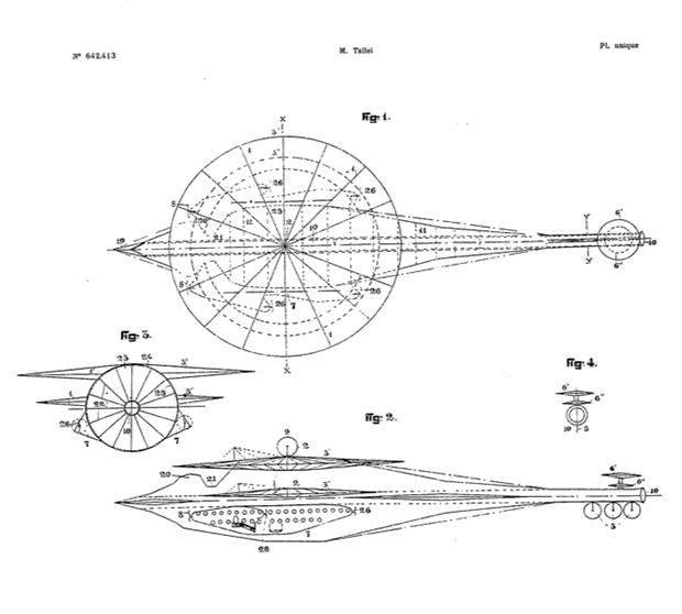 Los platillos volantes de Guido Tallei