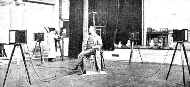 Esculturas fotográficas de 1910